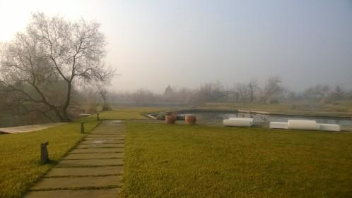 Piscina naturale di Villa Sacchetta